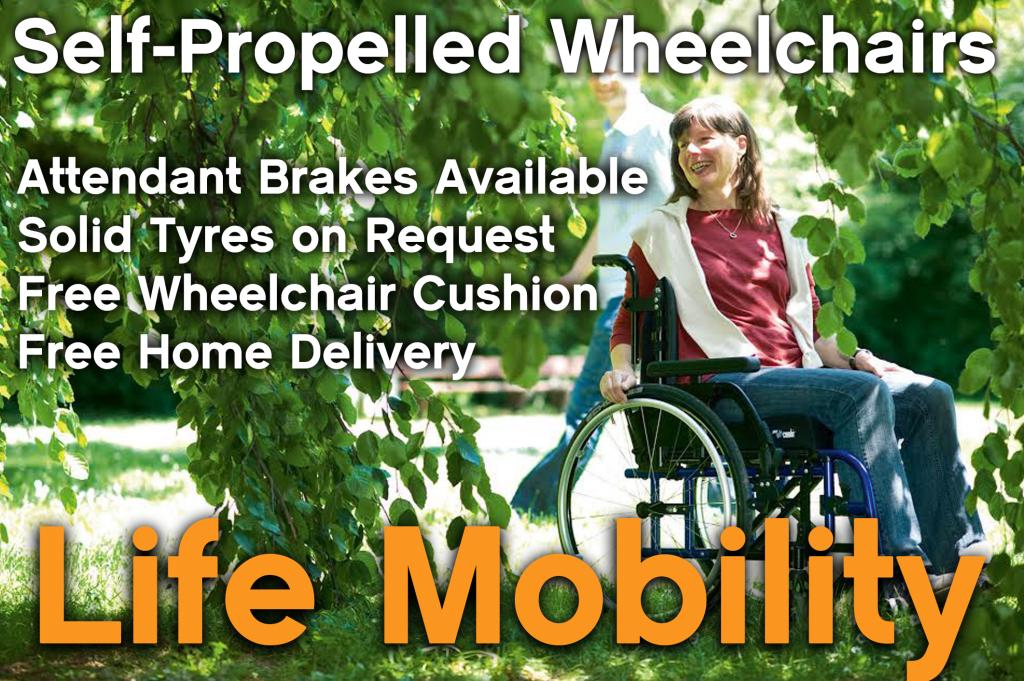 Self Propelled Wheelchir